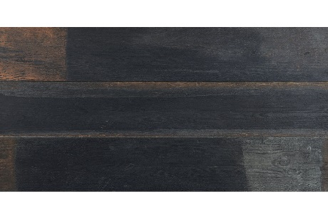 PAINTED WOOD PITCH BLACK