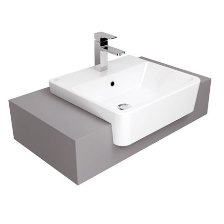 Semi Recessed Wash Basin