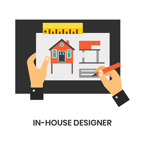 In-house Designers